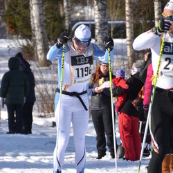 Skiing 90 km - Anders Sörensson (1196)