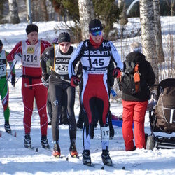 Skiing 90 km - Christian Grannas (145), Jonas Henningsson (1214)