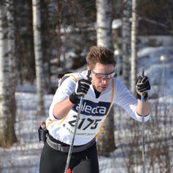Skiing 90 km - Daniel Hansson (2175)