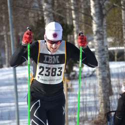 Skiing 90 km - Henrik Sandén (2383)