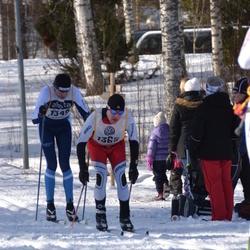 Skiing 90 km - Magnus Hårdén (1349), Jani Partanen (1365)