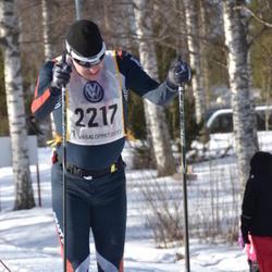 Skiing 90 km - Henrik Landström (2217)