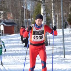 Skiing 90 km - Anders Ekern (2308)
