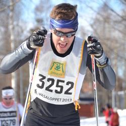 Skiing 90 km - Fredrik Swärd (3252)