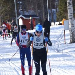 Skiing 90 km - Andrea Marchetti (2209), Niclas Nilsson (4373)