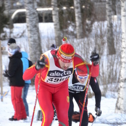 Skiing 90 km - Andre Larsson (3968)