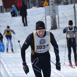 Skiing 90 km - Christer Hellström (3097)