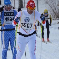 Skiing 90 km - Håkan Huselius (3567), Alessandro Fabrizi (4884)