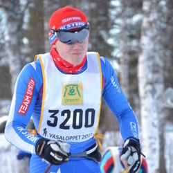 Skiing 90 km - David Thorell (3200)