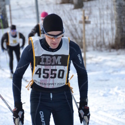 Skiing 90 km - Arnold Pettersson (4550)