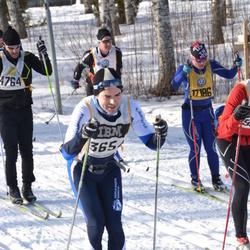 Skiing 90 km - Iain Moore (3654), Linnea Jonsson (17186)