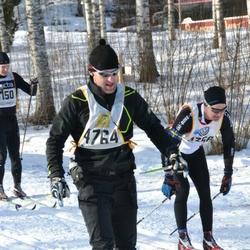 Skiing 90 km - Christer Jonsson (4358), Marko Skinnari (4764)