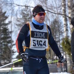 Skiing 90 km - Henrik Pålsson (5164)