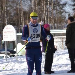 Skiing 90 km - Fredrik Häggström (4308)