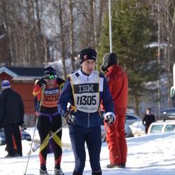 Skiing 90 km - David Kleman (11305)
