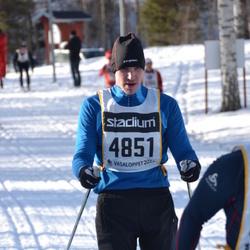 Skiing 90 km - Fredrik Holtling (4851)