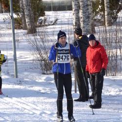 Skiing 90 km - Henrik Fehn (9476)