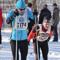 Skiing 90 km - Erik Wikström (6174), Sverre Henriksen (12639)