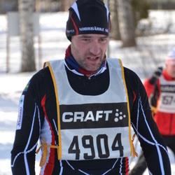 Skiing 90 km - Daniel Larsson (4904)