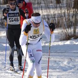 Skiing 90 km - Henrik Engström (5648), Michael Erler (10539)