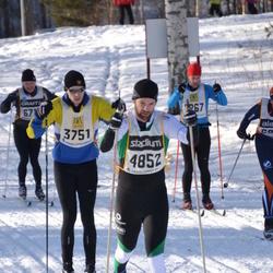 Skiing 90 km - Mattias Lindgren (3751), Henrik Forsberg (4852)