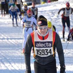 Skiing 90 km - Henrik Stranning (15934)