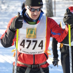 Skiing 90 km - Arne Okkenhaug (4774)