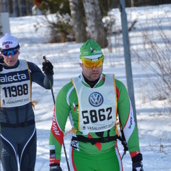 Skiing 90 km - Jaromir Sladkovsky (5862), Daniel Granvoll (11988)