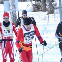 Skiing 90 km - Helge Danielsen (4761), Arild Nygaard (5618)