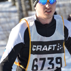 Skiing 90 km - David Pettersson (6739)