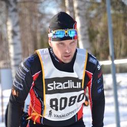 Skiing 90 km - Fredrik Eljas (8080)