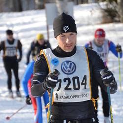 Skiing 90 km - Albert Forsén (7204)