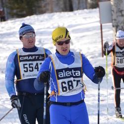 Skiing 90 km - Björn Westman (5541), Owe Backman (6875)