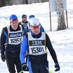 Skiing 90 km - Eirik Torbjörnsen (15301), Ronny Sundqvist (15953)