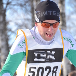 Skiing 90 km - Åke Larsson (5028)