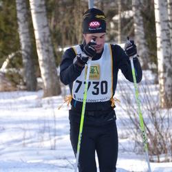 Skiing 90 km - Carl Friberg (7730)