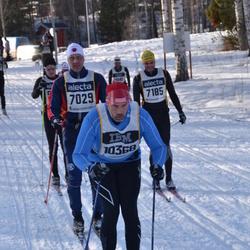 Skiing 90 km - Matz Ekman (7029), Åke Lindahl (7185), Jesper Carlander (10368)