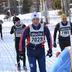 Skiing 90 km - Matz Ekman (7029), Åke Lindahl (7185)
