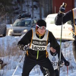Skiing 90 km - Adam Johansson (14697)
