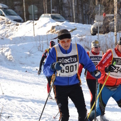 Skiing 90 km - Henrik Dalgaard (6901)