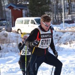 Skiing 90 km - Albert Bäckebjörk (6701)
