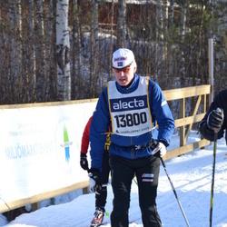 Skiing 90 km - Anders Dahlberg (13800)