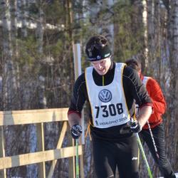 Skiing 90 km - David Linde (7308)
