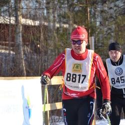 Skiing 90 km - Anders Larsson (8817)