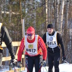 Skiing 90 km - Anders Nisser (8453), Anders Larsson (8817)