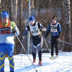 Skiing 90 km - Erik Willén (7981), Vahur Mäe (8496), Lars Erik Persson (30140)