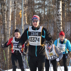 Skiing 90 km - Henrik Rubensson (13374)