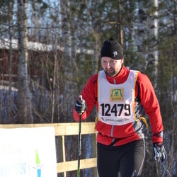 Skiing 90 km - Anders Wollter (12479)