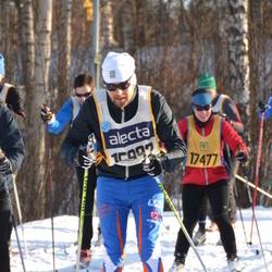 Skiing 90 km - Magnus Vinblad (15992), Catrin Kuus (17477)