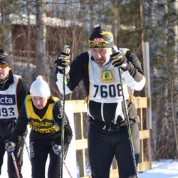 Skiing 90 km - Jan-Erik Nilsson (7608), Lena Wallin (18556)